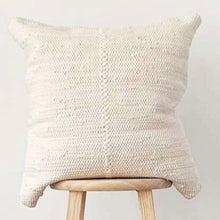 "Load image into Gallery viewer, Ivory Chindi Pillow 20""x20"""