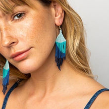 Load image into Gallery viewer, Ocean Blue Earring