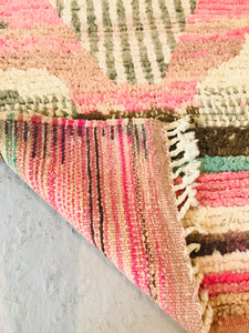 Cream with Abstract Pastels Boujaad Runner