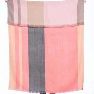 Alpaca Throw Blush + Pink