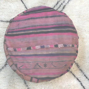 Vintage Moroccan Floor Cushion Round