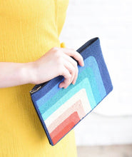 Load image into Gallery viewer, Rainbow Beaded Clutch