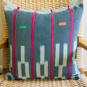 "Mud Cloth Pillow 20""x20"""