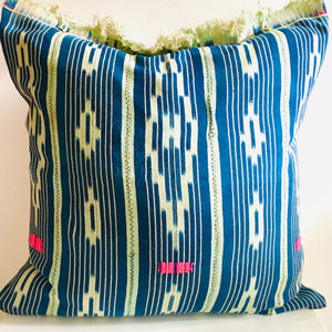 "Mud Cloth  Pillow 22""x22"""