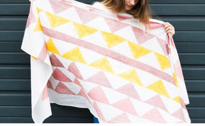 Block It Triangles Scarf