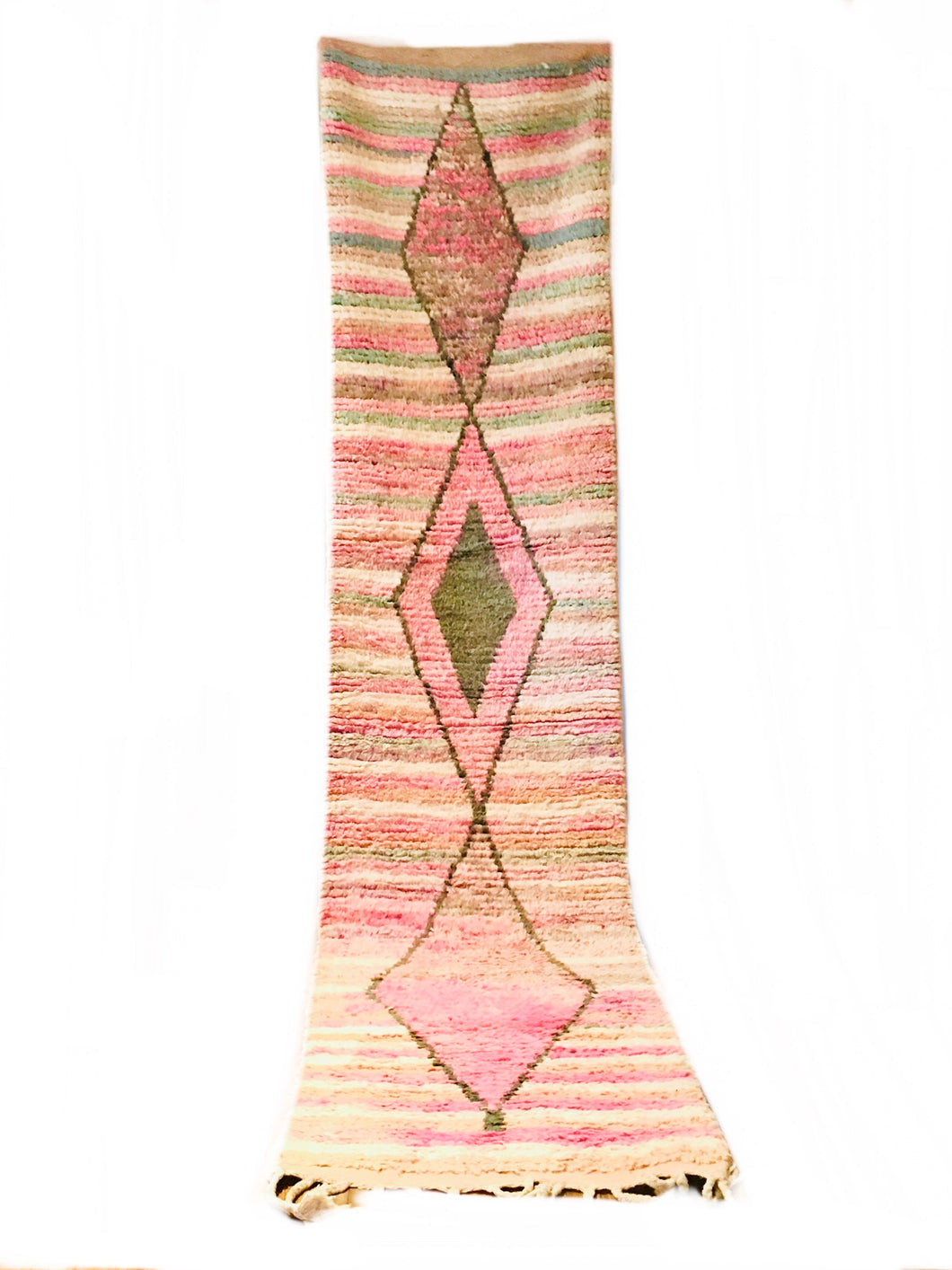 Boujaad Pale Pinks Center Symbol Runner