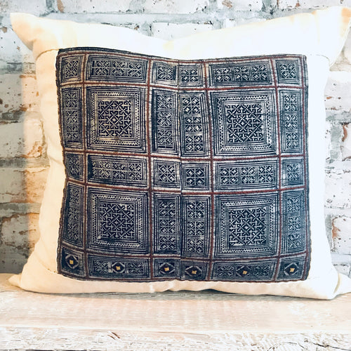 H'Mong Indigo Pillow
