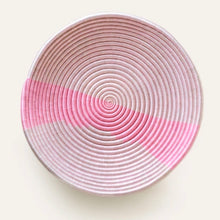 Load image into Gallery viewer, Ex Large Bolt Pink Plateau Bowl