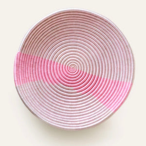 Ex Large Bolt Pink Plateau Bowl