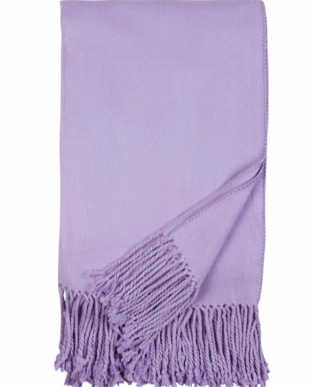 Bamboo Throw Lavender