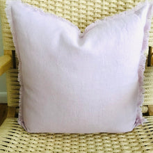 Load image into Gallery viewer, Linen Eyelash Poudre + Lavender Pillow