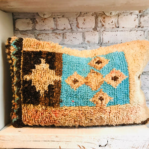 Vintage Boujad Wool Pillow
