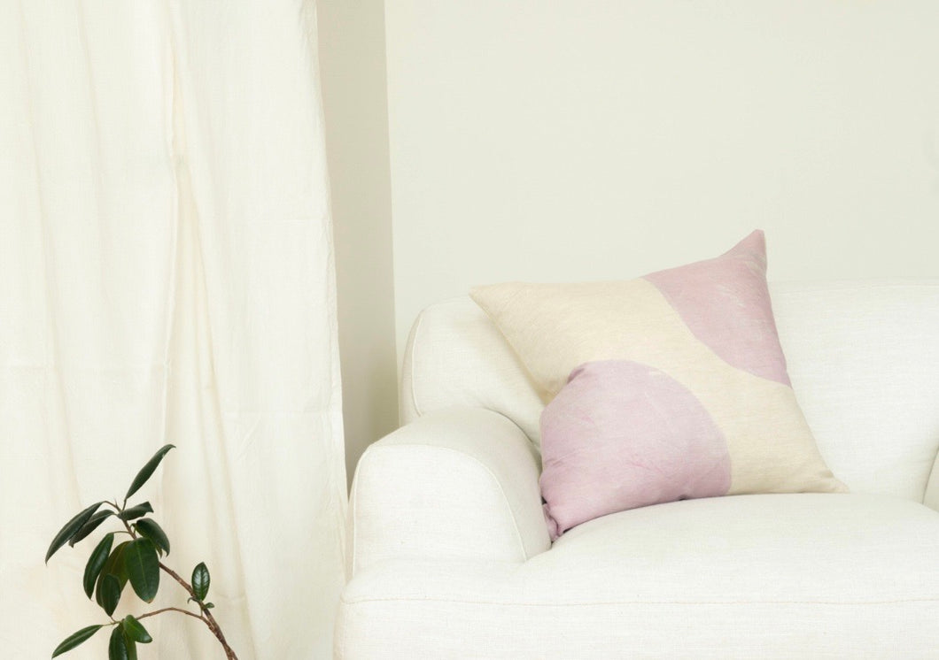 "Lavender Collection Linen Pillow 18""x18"""