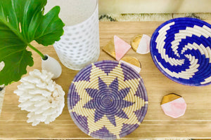 Periwinkle Star Bowl