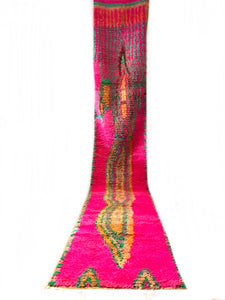 Abstract Fuchsia Boujaad Runner