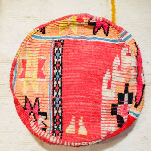 Moroccan Floor Cushion Cover Round