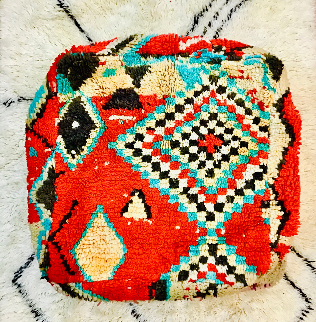 Moroccan Floor Cushion Cover