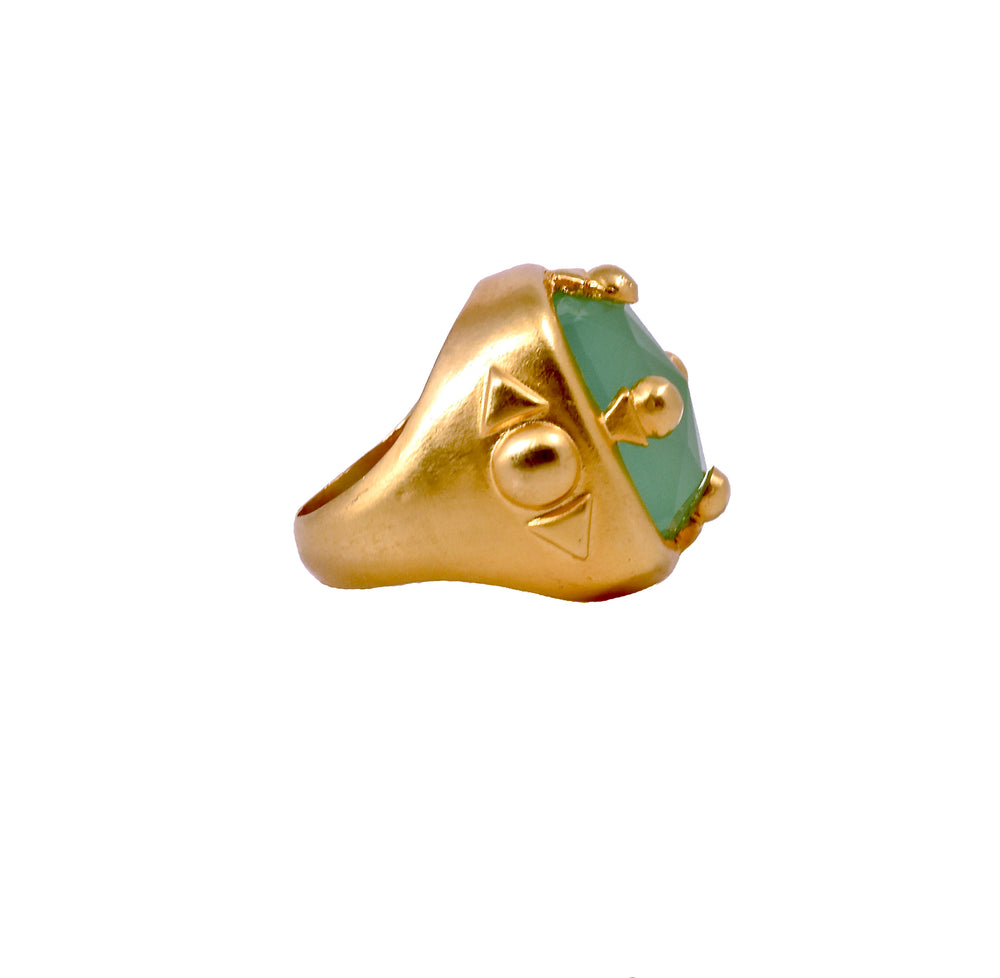Romana Statement Ring - AmatoStyle