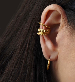 Load image into Gallery viewer, STACKABLE EAR CUFF SET