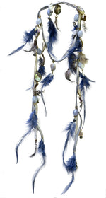 Aquene Feather Laureate in Silver - AmatoStyle