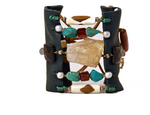 Danoma Mosaic Cuff in Teal - AmatoStyle
