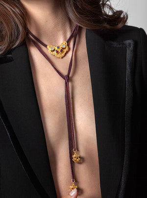Rosa Laureate Necklace - AmatoStyle