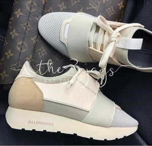 Cream Bal Runners