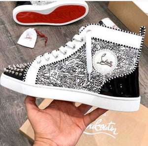 Graffiti Cl Spiked Redbottom