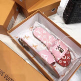Lv Slipper Sandals