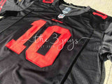 Mens Nike Jimmy Garoppolo Black San Francisco 49Ers Vapor Untouchable Limited Jersey