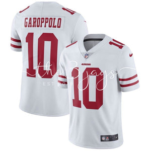 Mens Nike Jimmy Garoppolo White San Francisco 49Ers Vapor Untouchable Limited Jersey