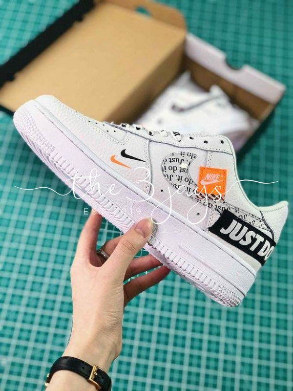 Nike Air Force 1 AF1 Low Custom Just Do It – The Three Jays