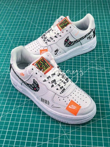 Nike Air Force 1 Af1 Low Custom Just Do It