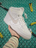Nike Air Force 1 Hi Cmft Prm Qs White Lce