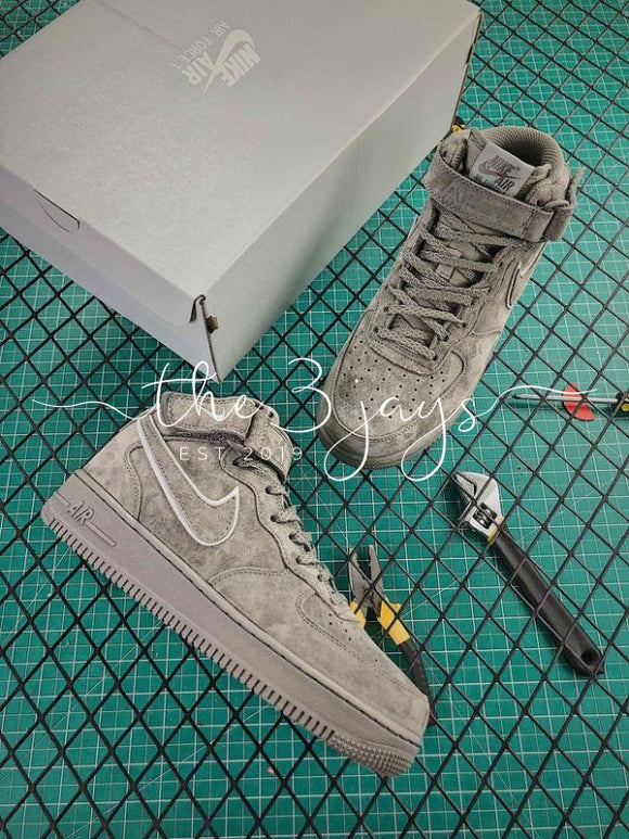 Nike Air Force 1 Mid 07 Suede Grey