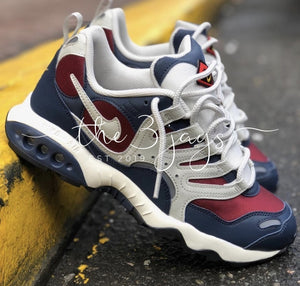Nike Air Humara Blue Maroon White