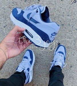 Nike Air Max 1 Navy Grey