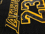 Nwt Lebron James 23 Los Angeles Lakers Mens Black Mamba Basketball Jersey