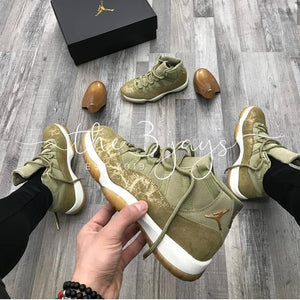 Retro 11 Olive Lux Wheat