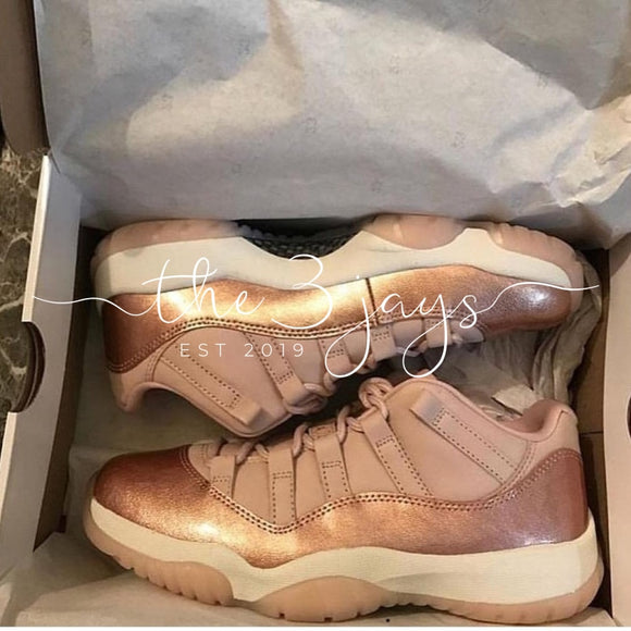 Retro 11 Rose Gold Lows