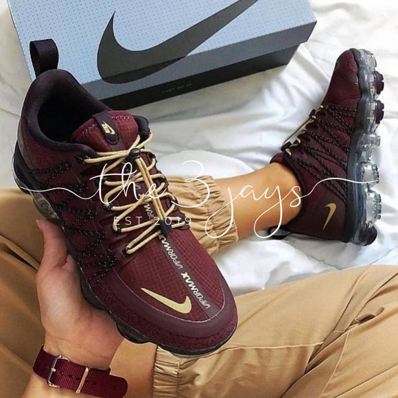 Vapormax Run Utility Burgundy