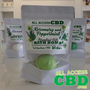 All Access CBD - Bath Bombs