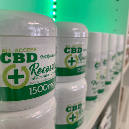 All Access CBD - Recovery Inflammation Cream 4oz