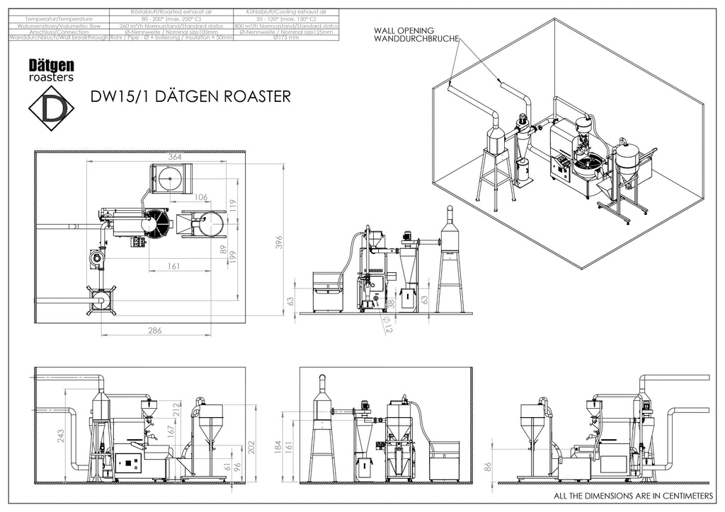 Coffee Roaster Layout