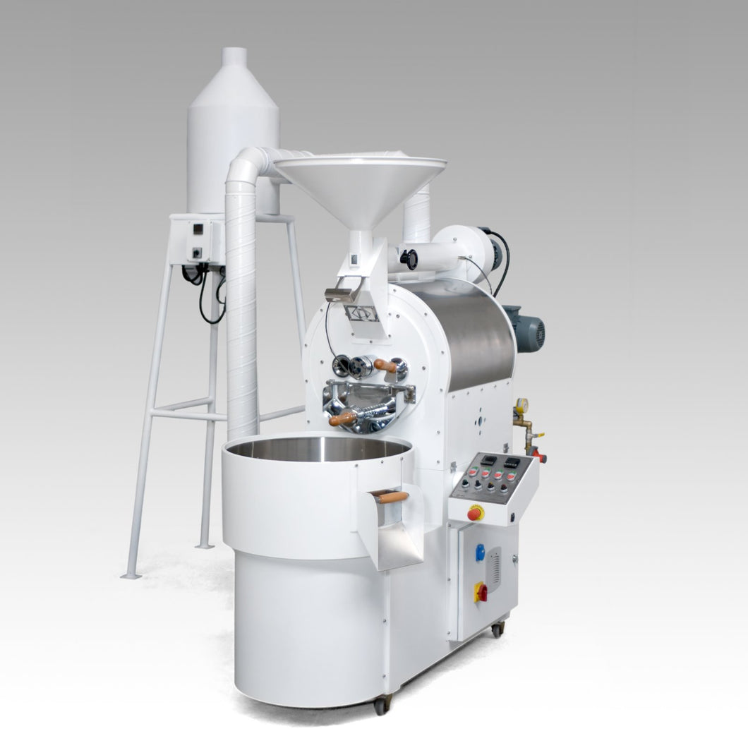 Coffee roaster with an afterburner