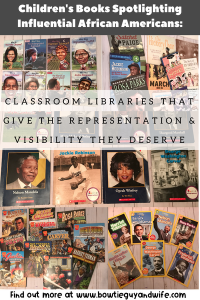 Children's Books Spotlighting African Americans: Bring the Representation & Visibility They Deserve