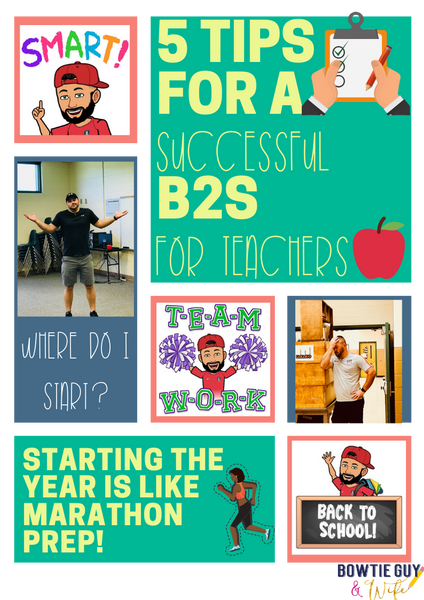 Five Tips for a Successful Back to School (For Teachers)