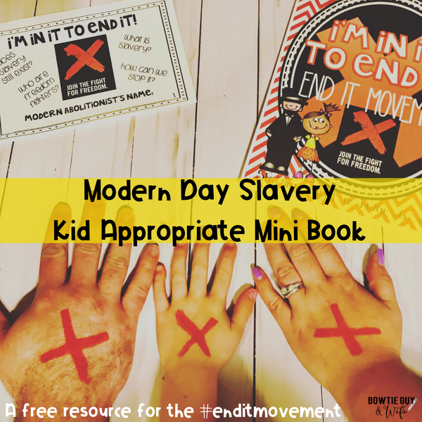 Shine a Light on Modern Day Slavery Day is February 13