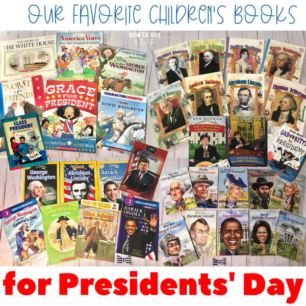 The BEST books to teach about the President!