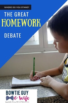 Rethinking Homework: The Great Debate